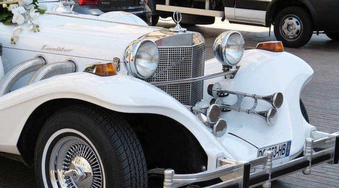 Luksusowym autem do ślubu